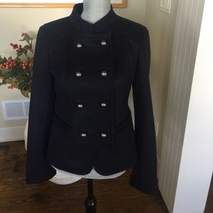 Ann Taylor LOFT  military coat